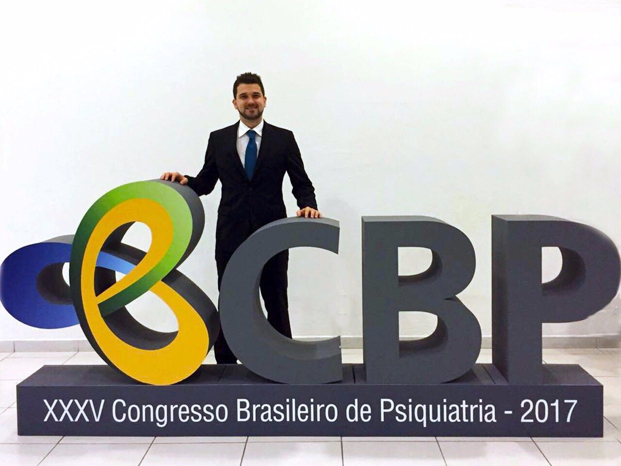 1 Congresso 2017 São Paulo 1 1 - Mesa Redonda de Psiquiatria do Esporte no Congresso Brasileiro de Psiquiatria em SP