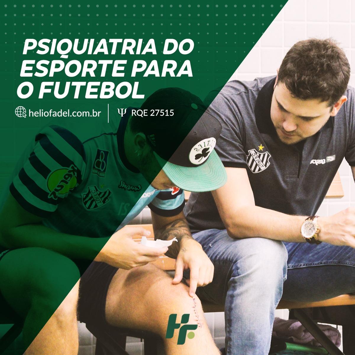 psiquiatra esporte futebol