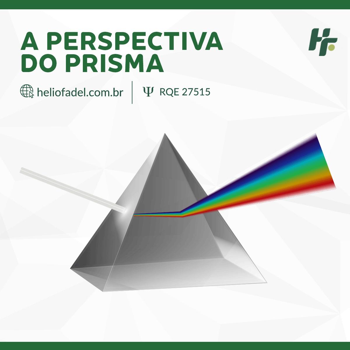 a perspectiva do prisma - Você entende a perspectiva de um Prisma?