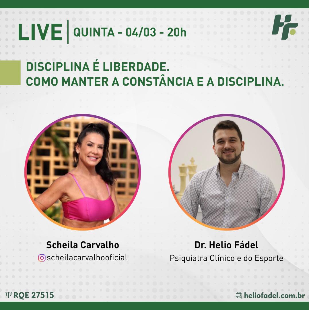 scheila carvalho helio fádel - LIVE com Scheila Carvalho e Dr. Helio Fádel